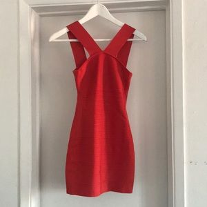 Bandage Bodycon Red Marciano Dress